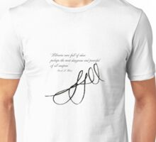 Sarah J Maas Signed Quotable Unisex T-Shirt