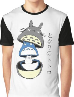 Totoro russian doll Graphic T-Shirt