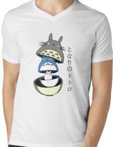Totoro russian doll Mens V-Neck T-Shirt