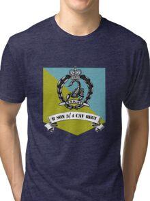 B SQN 3/4 Cav Regt  Tri-blend T-Shirt