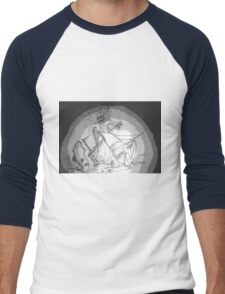 Troctopus playing with a boat Men's Baseball ¾ T-Shirt