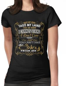 BALLAD OF SERENITY Womens Fitted T-Shirt