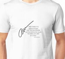 Amie Kaufman Signed Quotable Unisex T-Shirt