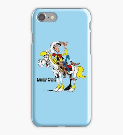 luckyluke iPhone Case/Skin