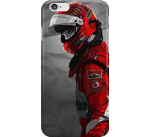 michael schumacher iPhone Case/Skin