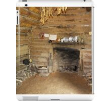 Living Room with Fireplace iPad Case/Skin
