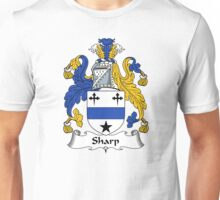 Sharp Coat of Arms / Sharp Family Crest Unisex T-Shirt