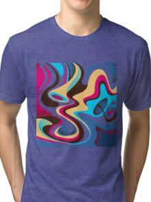 Colorful Flow Tri-blend T-Shirt