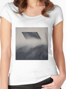 The Diamond Women's Fitted Scoop T-Shirt