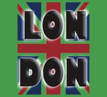UNION JACK, LONDON, Brits, ENGLAND, IN COLOUR, UK, GB, Britain, BRITISH, Kids Tee