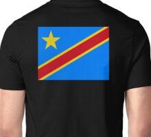 CONGO, African, Flag, Congolese, Africa, Democratic Republic of the Congo Unisex T-Shirt