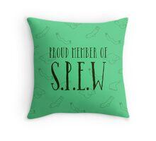 spew Throw Pillow