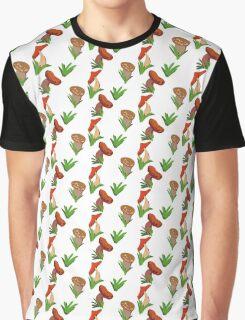 Mushrooms Graphic T-Shirt