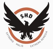 Tom Clancy's The Division SHD Logo Black Phoenix Baby Tee