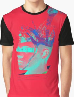 S.T.I. (Synthetic Telepathy Interface) Graphic T-Shirt