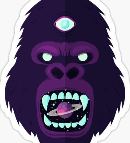 Cosmorilla Sticker