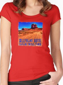 Elephant Butte Women's Fitted Scoop T-Shirt