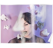 Breathe - Baby's Breath and Cootie Catchers Poster