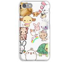 Kawaii Animals Collection iPhone Case/Skin