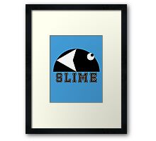 Slime Games 90's (Good times <3) Framed Print