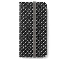 Horse and black pattern iPhone Wallet/Case/Skin