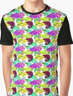 chameleon - multicolored chameleons! Graphic T-Shirt