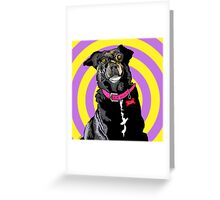 Hypno Doggie Greeting Card