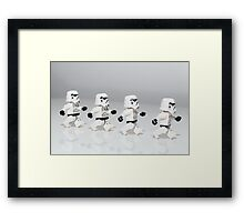 Storm Trooper March Framed Print