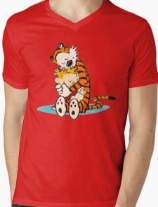 Calvin and hobbes forever Mens V-Neck T-Shirt