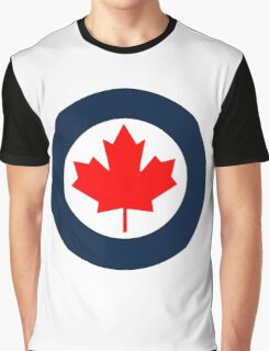 Royal Canadian Air Force Roundel Graphic T-Shirt