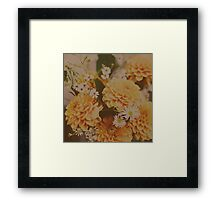 Autumn Floral Framed Print