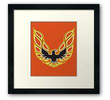 Firebird Framed Print