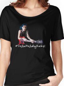 Delia Melody Rocks (Fierna) Women's Relaxed Fit T-Shirt