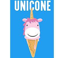 Unicone Unicorn Ice Cream T Shirt Photographic Print
