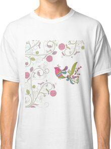 Pretty Paisley Bird Classic T-Shirt