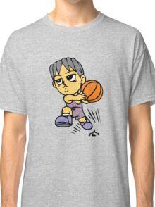 Basketball cartoon art Classic T-Shirt