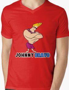 johnny bravo Mens V-Neck T-Shirt