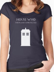 House Who Women's Fitted Scoop T-Shirt