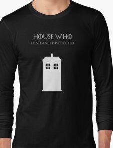 House Who Long Sleeve T-Shirt