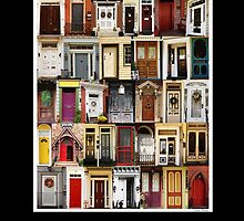 The Doors of Bordentown by louise reeves