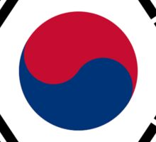 KOREA, KOREAN, South Korean Flag, National flag of South Korea Sticker