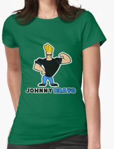 johnny bravo Womens Fitted T-Shirt