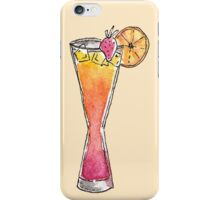 Tropical Mixed Fruity Mango Strawberry Drink iPhone Case/Skin