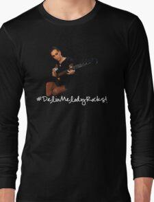 Delia Melody Rocks (Corvina) Long Sleeve T-Shirt