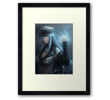 Captain Es Death Framed Print