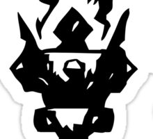Iron Crowned Torch Sticker