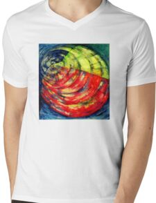 ELECTRON Mens V-Neck T-Shirt