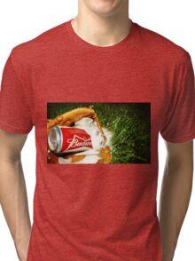 Budweiser Beer Tri-blend T-Shirt