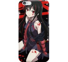 akame - Kill the Carnage iPhone Case/Skin