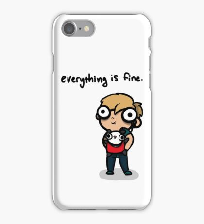Everything is Fine iPhone Case/Skin